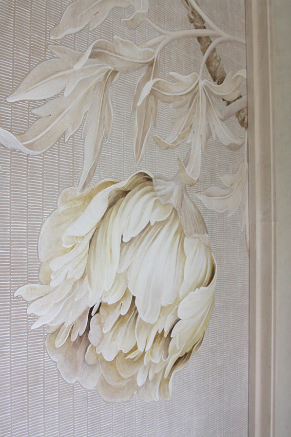 Detail, Tree Peonies, 2008